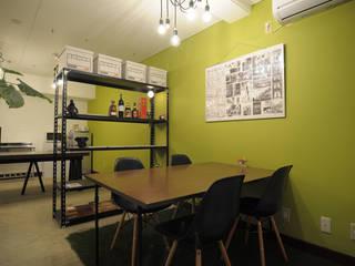 hacototo design room อาคารสำนักงาน ร้านค้า เหล็ก Green