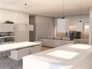 Apartamentos de Luxo - Lamaçães, Braga por Strobe Decor Moderno