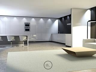 Cozinha Moderna por Strobe Decor Escandinavo