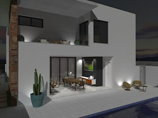 Modern houses by ARQUITETURA NOVA Modern