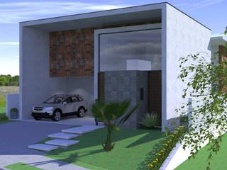 CASA MARÇAL Casas modernas por ARQUITETURA NOVA Moderno