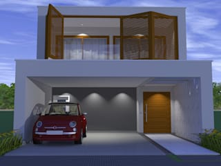 CASA BRISA Casas modernas por ARQUITETURA NOVA Moderno