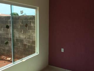 Living room by Guedes e Menezes Arquitetura + Engenharia,