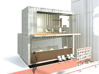 Modern study/office by ARQUITETURA NOVA Modern