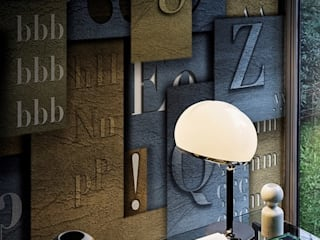 Oficinas de estilo ecléctico de Ihr Einrichter Deco und Interieur Ralf Leuter Ecléctico