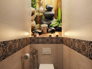 Визуализация ванной комнаты Ванная комната в эклектичном стиле от Alyona Musina Эклектичный