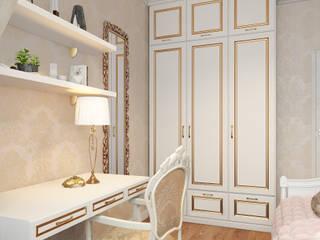 Визуализаци детской комнаты для Регины Детская комнатa в классическом стиле от Alyona Musina Классический