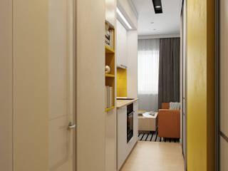 Визуализация квартиры для Семёна Гостиная в стиле минимализм от Alyona Musina Минимализм