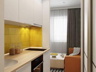 Визуализация квартиры для Семёна Кухня в стиле минимализм от Alyona Musina Минимализм