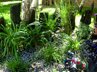 Aida tropeano& Asociados Classic style garden Stone Green