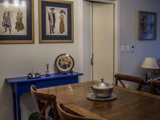 Apartamento Condado de Homelland - Gramado Salas de jantar campestres por Luiza Goulart Arquiteta Campestre