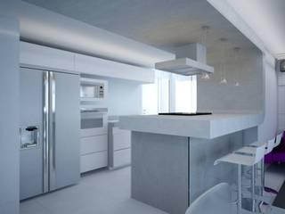 PLANYTEC CONSTRUÇÕES E PROJETOS 現代廚房設計點子、靈感&圖片