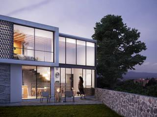 Loft en Cuernavaca: Casas de estilo minimalista por DELTA