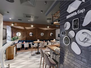 Eclectic style gastronomy by Yucubedesign Eclectic