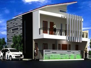 Rumah Tinggal di Jakarta Rumah Minimalis Oleh Elevenstudios Minimalis