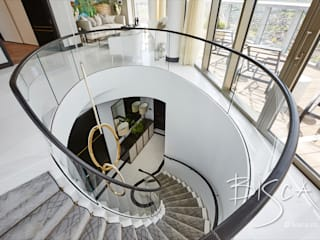 Designer Marble Staircase Bisca Staircases Scale Pietra
