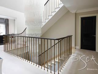 Designer Staircase with A Bronze Balustrade Bisca Staircases Escaleras Madera