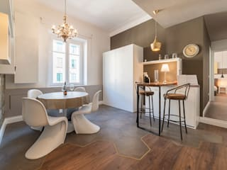 Eclectic style dining room by cristina bisà Eclectic