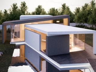 Dom kubistyczny: styl , w kategorii Domy zaprojektowany przez KA Architekci