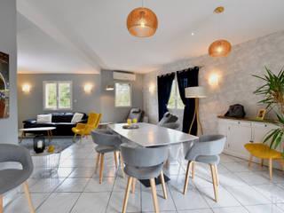 Photographie d'aménagement intérieur: Salle à manger de style  par Thierry Allard photographe