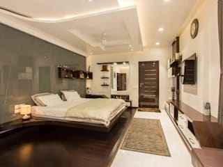 3BHK_ Mr.Narayana Rao_ Parrys Interior Decoration_ Site photos Modern style bedroom by Arcmen kitchens And Interiors Modern
