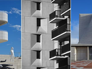 Photographie d'architecture extérieure: Musées de style  par Thierry Allard photographe