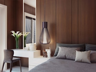 Apartment Design Modern style bedroom by CONCEPTIONS Modern