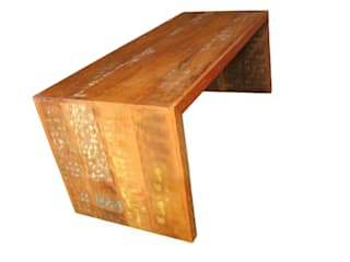 Barrocarte Dining roomTables Solid Wood Wood effect
