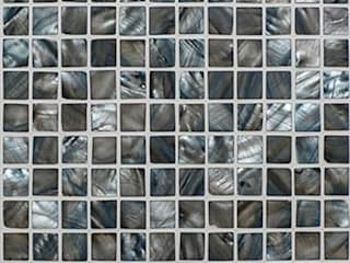 Mother of Pearl Mosaic Tiles Finwood Designs Murs & SolsCarrelage Turquoise