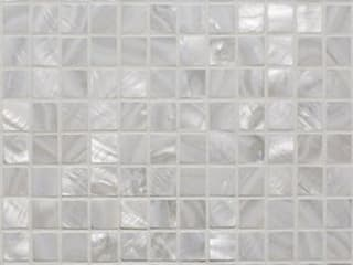 Mother of Pearl Mosaic Tiles Finwood Designs Walls & flooringTiles White