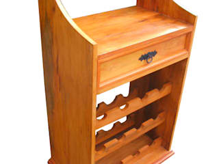 Barrocarte Dining roomWine racks Solid Wood Wood effect