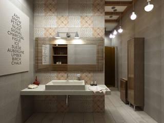 Modern bathroom by Студия дизайна и визуализации интерьеров Ивановой Натальи. Modern