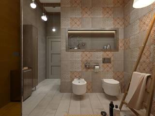 Moderne Badezimmer von Студия дизайна и визуализации интерьеров Ивановой Натальи. Modern