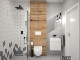 Modern bathroom by OES architekci Modern