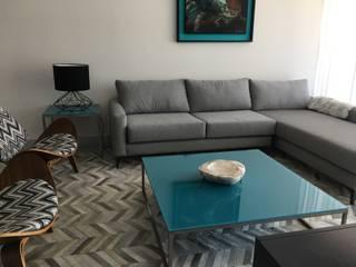 D TERRACE 802: Salas de estilo  por DECO designers