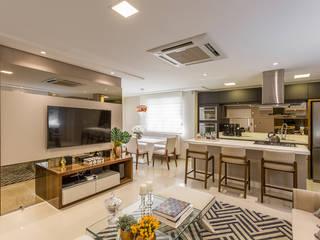 Modern Living Room by Juliana Agner Arquitetura e Interiores Modern