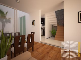 Stairs by HHRG ARQUITECTOS
