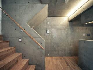 一級建築士事務所アトリエソルト株式会社 Modern Yemek Odası Beton