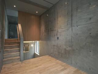 一級建築士事務所アトリエソルト株式会社 Modern Oturma Odası Beton