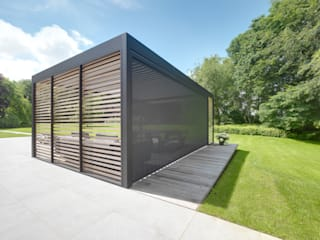 Cole Road Moderne tuinen van IQ Outdoor Living Modern