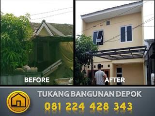 Renovasi total:  oleh Tukang Bangunan,