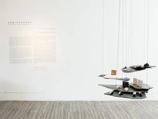 """Muestra de Joyería """" Semiophores"""": Espacios comerciales de estilo  por Zet // diseño de espacios, Minimalista"""