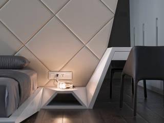 ROOM2:  臥室 by Nestho studio