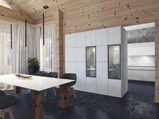 Parco di betulla : Столовые комнаты в . Автор – Laboratorio Creativo di Vladimir Lamfadel