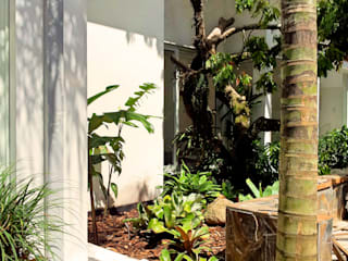 Residencia Coelho, Jardim. STUDIO AGUIAR E DINIS Modern garden