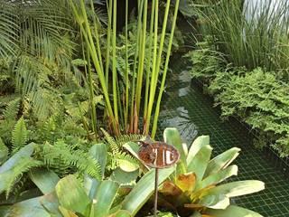 Residencia Coelho, Jardim. STUDIO AGUIAR E DINIS モダンな庭