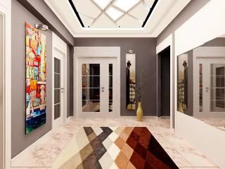 Nergiz-Av. Zeki Gümüş Evi Modern Koridor, Hol & Merdivenler Mozeta Mimarlık Modern