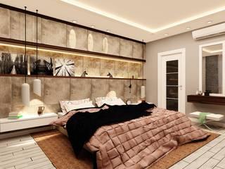 Nergiz-Av. Zeki Gümüş Evi Modern Yatak Odası Mozeta Mimarlık Modern