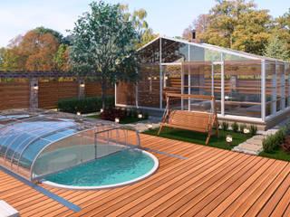 Благоустройство территории Балкон и терраса в стиле модерн от ECOForma Модерн