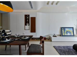 Wohnzimmer von 北歐制作室內設計, Modern